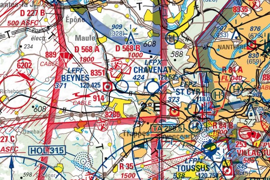 Commandes de cartes aéronautiques 2017