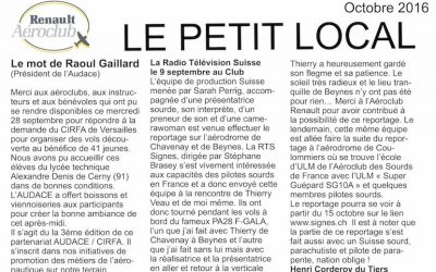 Le Petit Local octobre 2016