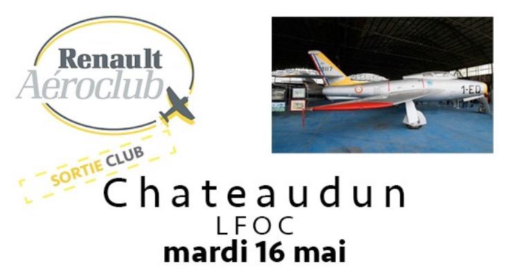 Sortie club Châteaudun : Mardi 16 mai