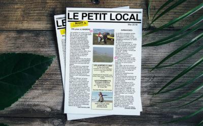 Le Petit Local – Mai 2018