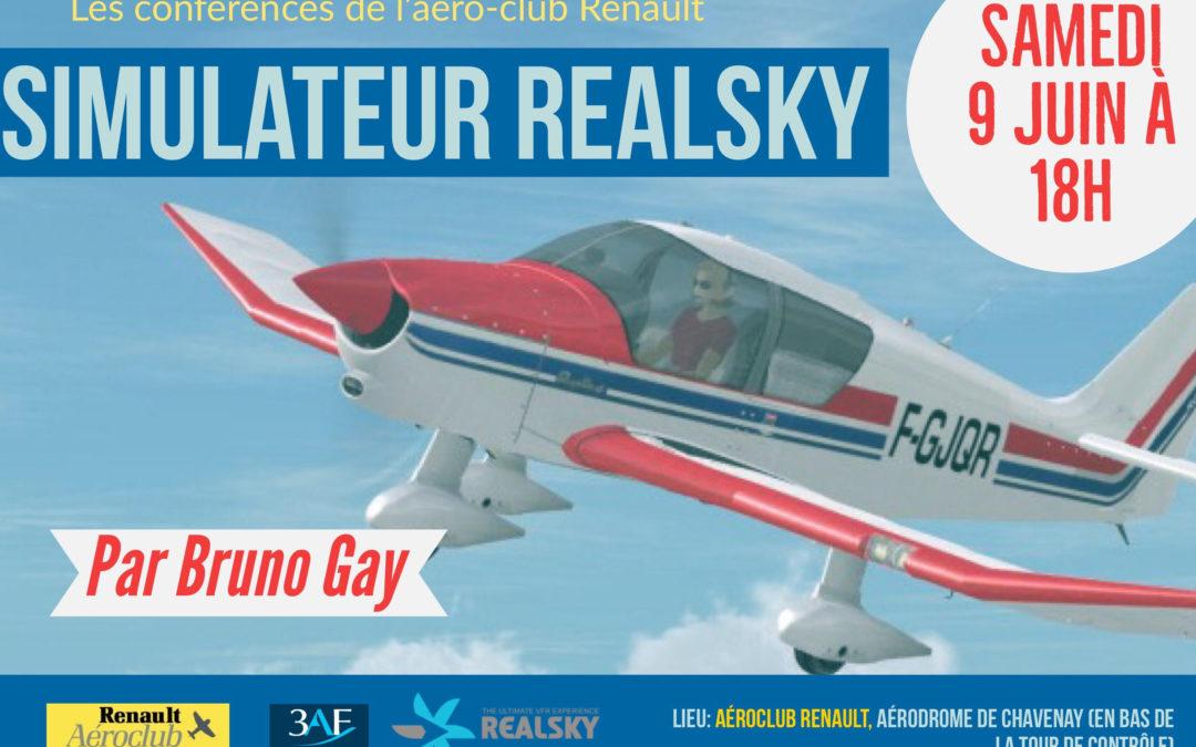 Les Conférences de l'ACR – Simulateur RealSky