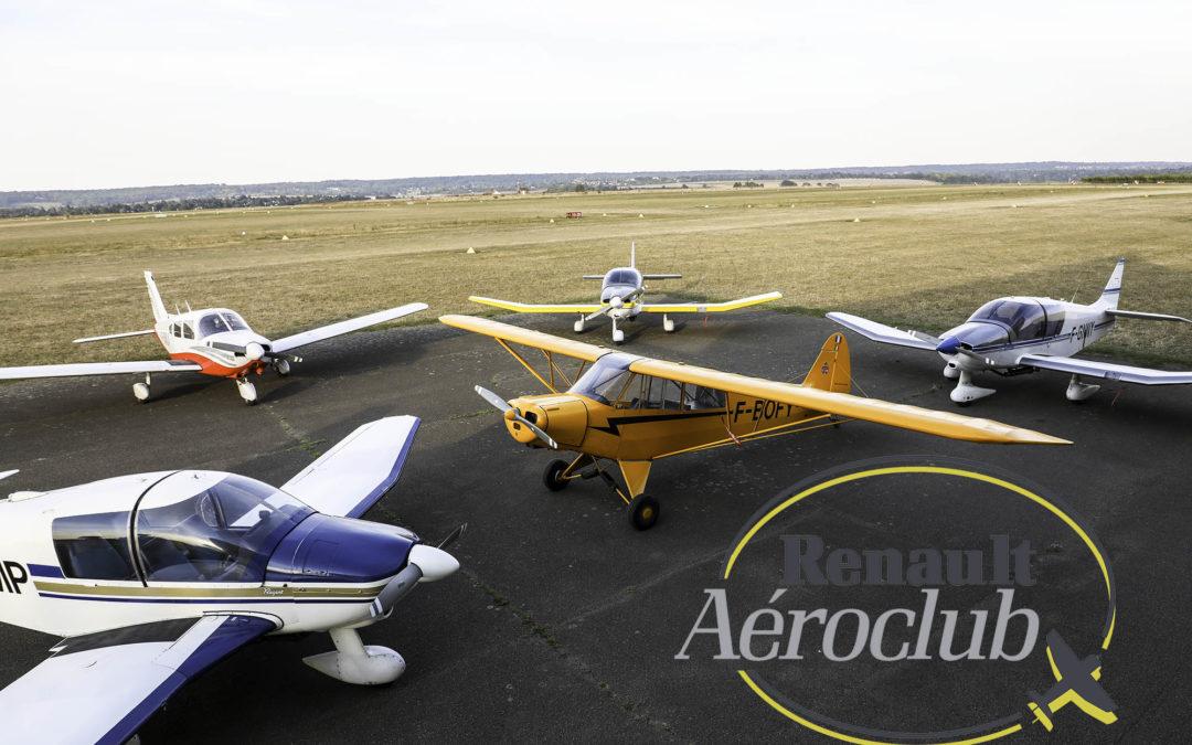 Evolution des mesures pour les vols solo
